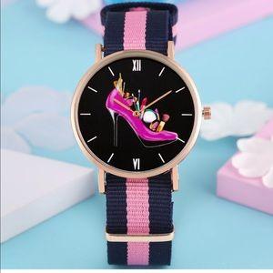Super Cute Shoe 👠 Pattern Quartz Watch